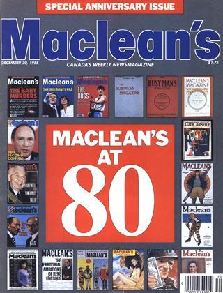 DECEMBER 30, 1985 | Maclean's