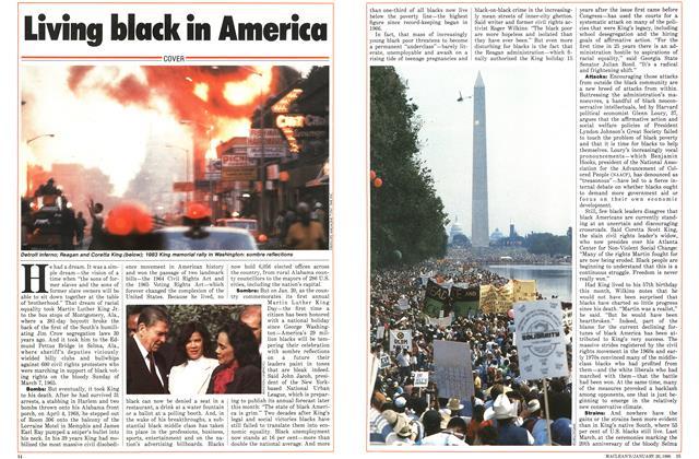 Living black in America