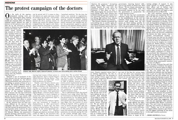 The protest campaign of the doctors