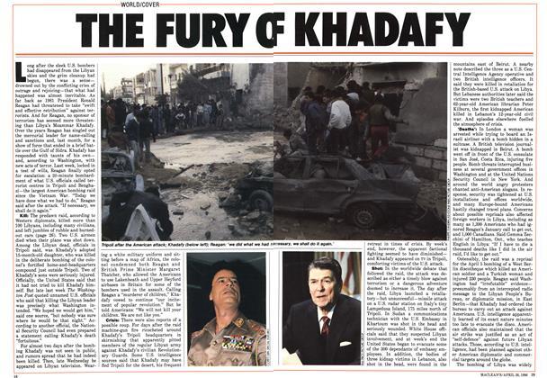 THE FURY OF KHADAFY