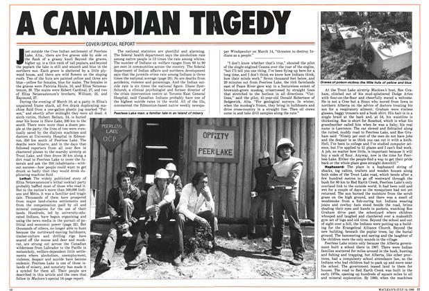 A CANADIAN TRAGEDY