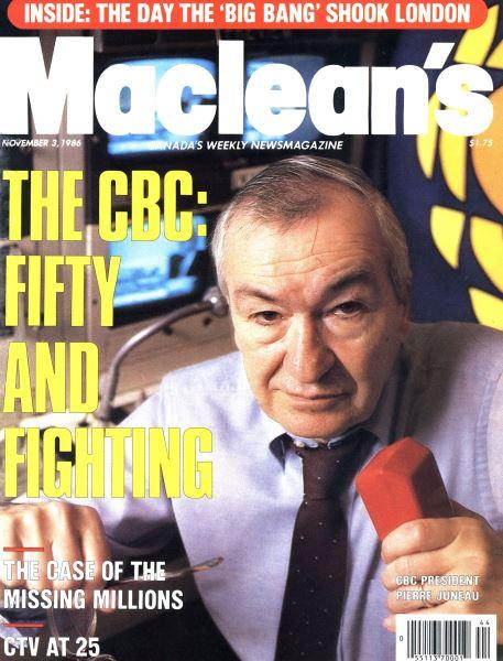 Issue: - November 1986 | Maclean's