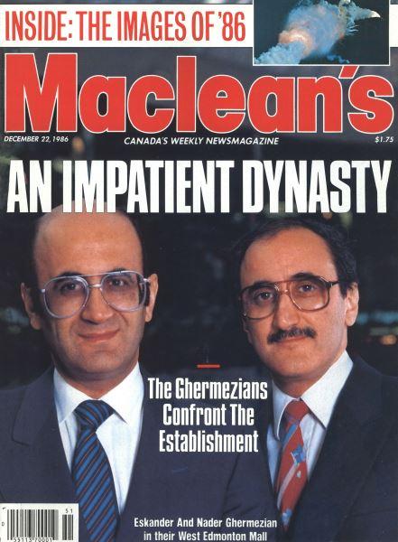 Issue: - December 1986   Maclean's