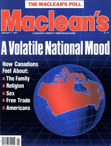 Issue: - January 1987 | Maclean's
