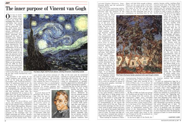 The inner purpose of Vincent van Gogh