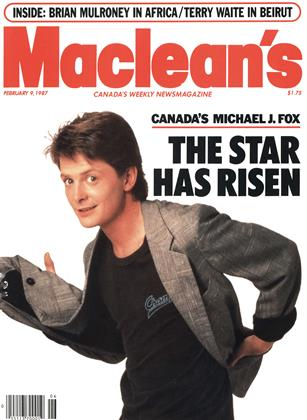 Cover for the February 9 1987 issue