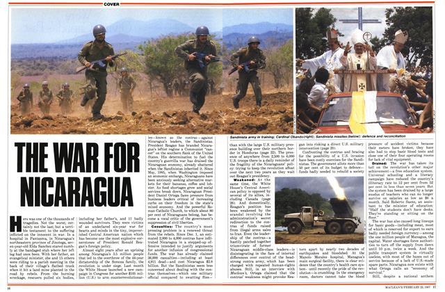 THE WAR FOR NICARAGUA