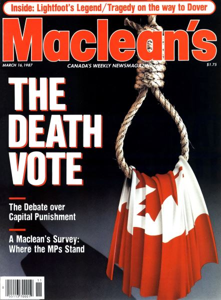 Issue: - March 1987 | Maclean's