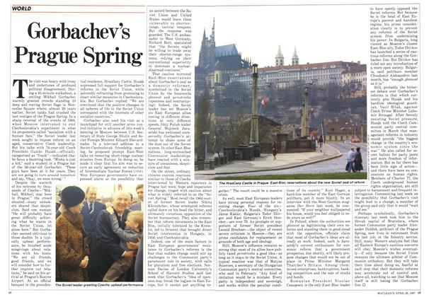 Gorbachev's Prague Spring