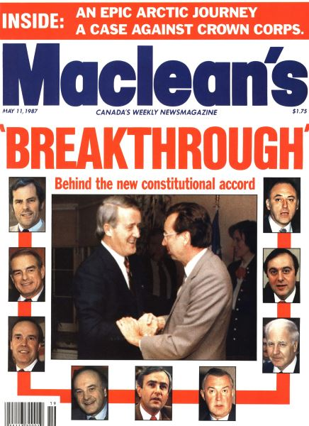 Issue: - May 1987   Maclean's