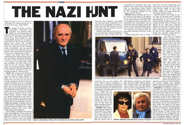 THE NAZI HUNT