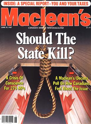 Cover for the June 29 1987 issue