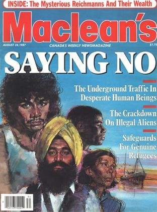 Cover for the August 24 1987 issue