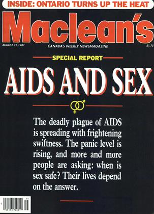 Cover for the August 31 1987 issue