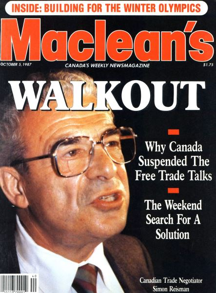 Issue: - October 1987 | Maclean's