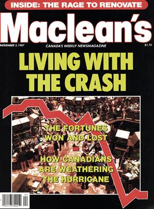 Cover for the November 2 1987 issue