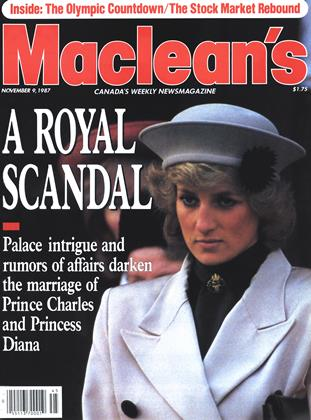 Cover for the November 9 1987 issue