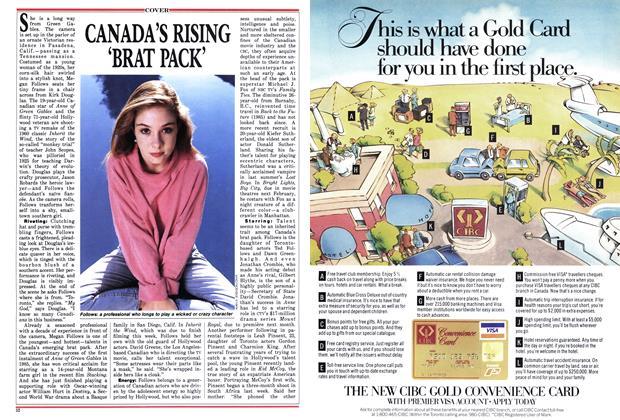 CANADA'S RISING 'BRAT PACK'