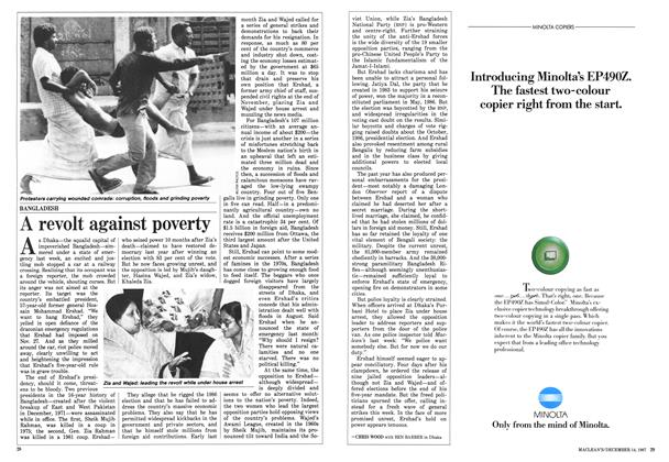A revolt against poverty