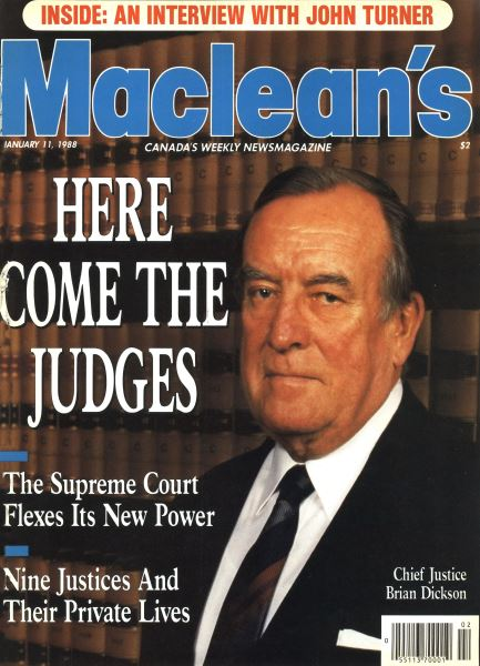 Issue: - January 1988 | Maclean's