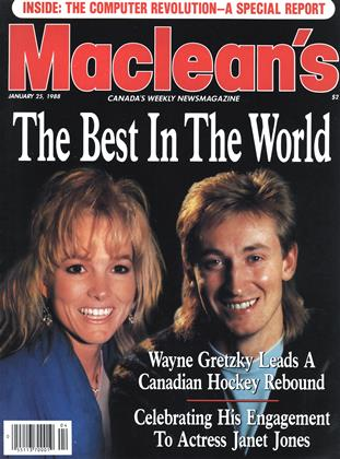 Cover for the January 25 1988 issue
