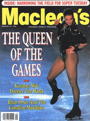 Cover for the February 29 1988 issue