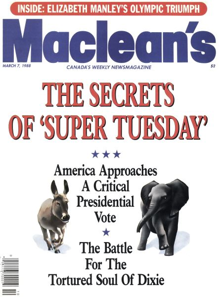 Issue: - March 1988 | Maclean's