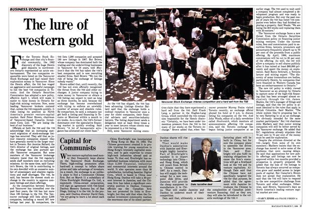 The lure of western gold