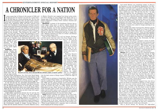 A CHRONICLER FOR A NATION