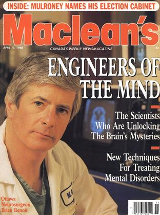 Cover for the April 11 1988 issue