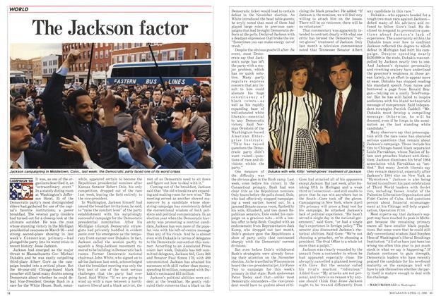 The Jackson factor