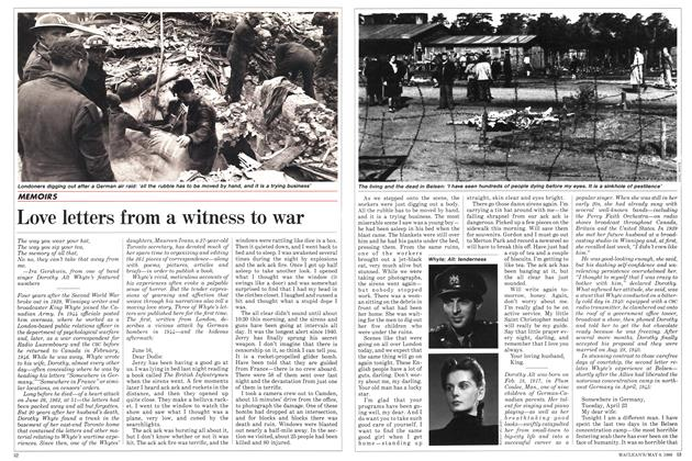 Love letters from a witness to war