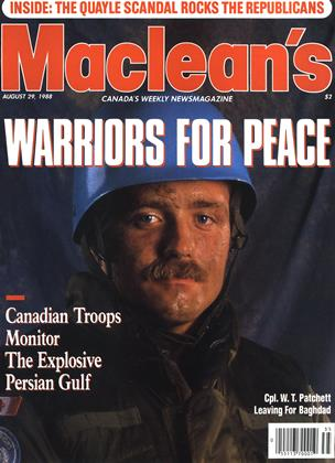 Cover for the August 29 1988 issue