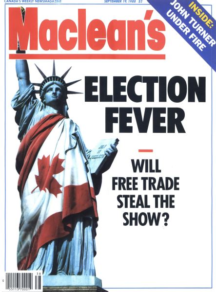 Issue: - SEPTEMBER 19,1988 | Maclean's