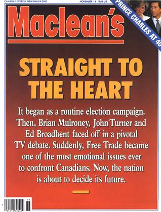 Cover for the November 14 1988 issue