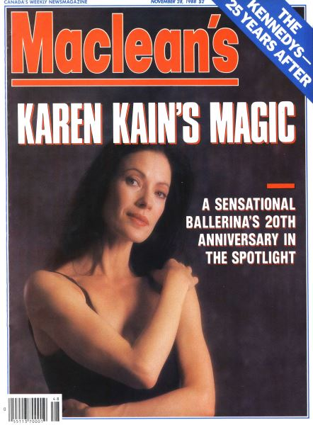 Issue: - November 1988 | Maclean's