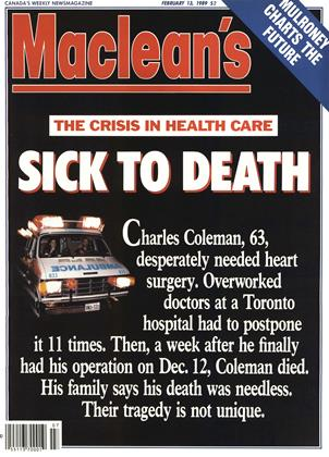 Cover for the February 13 1989 issue