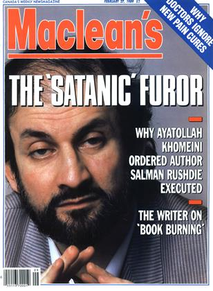 Cover for the February 27 1989 issue