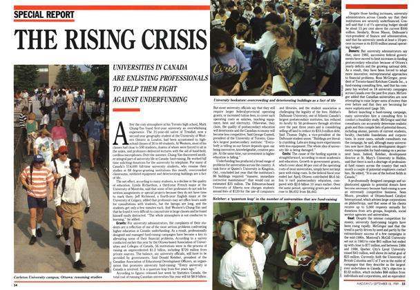 THE RISING CRISIS