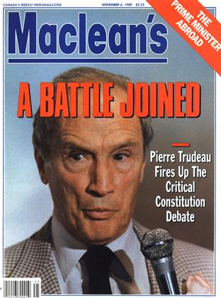 Cover for the November 6 1989 issue