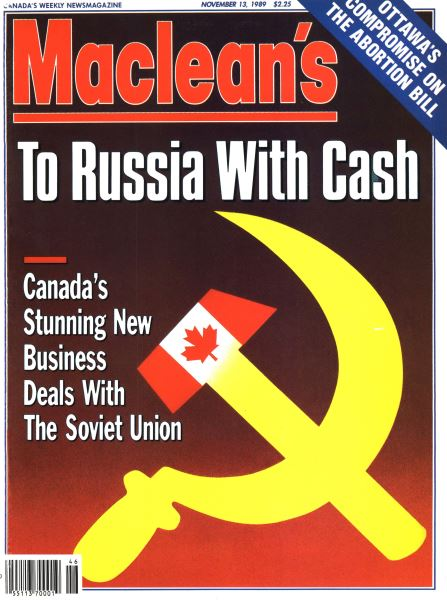 Issue: - November 1989 | Maclean's