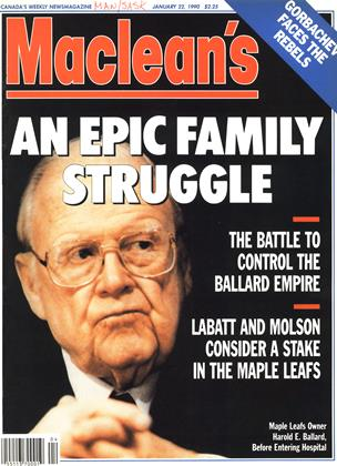 Cover for the January 22 1990 issue