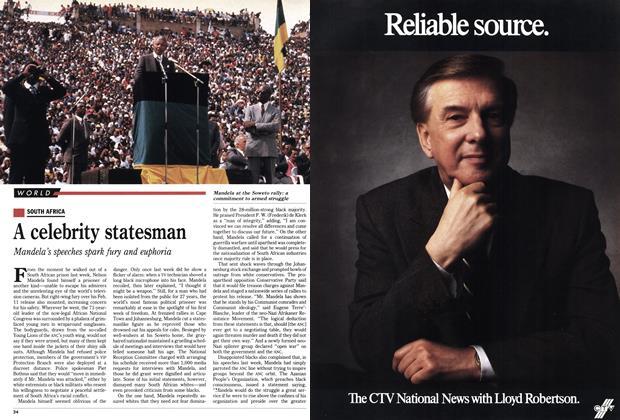 A celebrity statesman