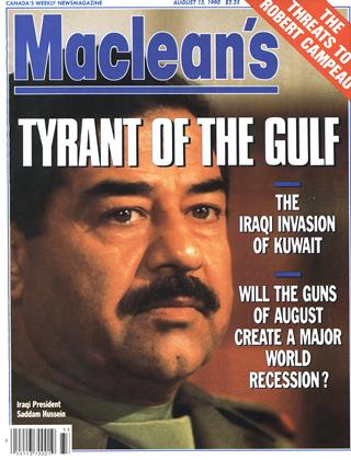 Cover for the August 13 1990 issue