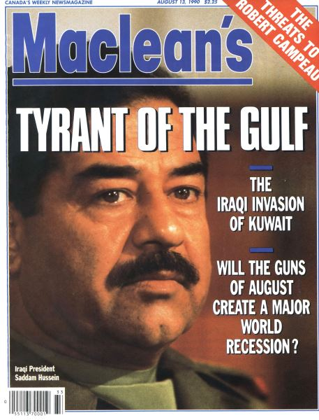 Issue: - August 1990   Maclean's