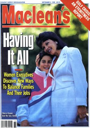 Cover for the September 3 1990 issue