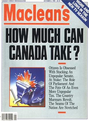 Cover for the October 8 1990 issue