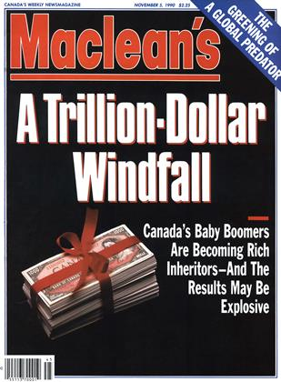 Cover for the November 5 1990 issue