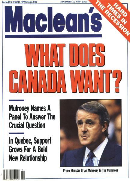 Issue: - November 1990 | Maclean's