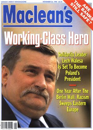Cover for the November 26 1990 issue